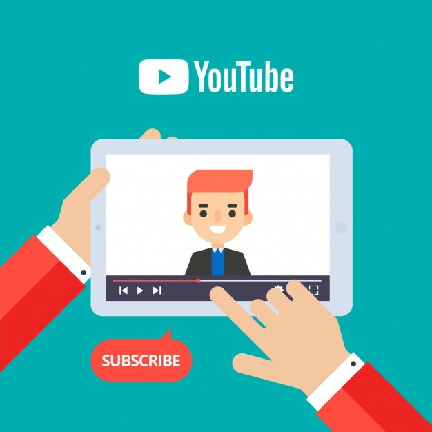youtube-player-device-with-flat-design_23-2147844070